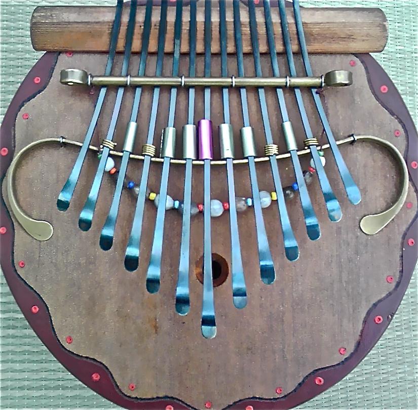 数珠玉付瓢箪カリンバのイメージ